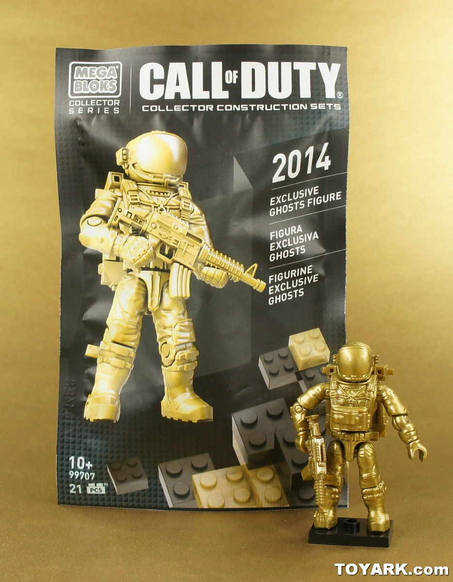 Mega Bloks Call Of Duty Astronaut collector series  2014 Ghosts Figure