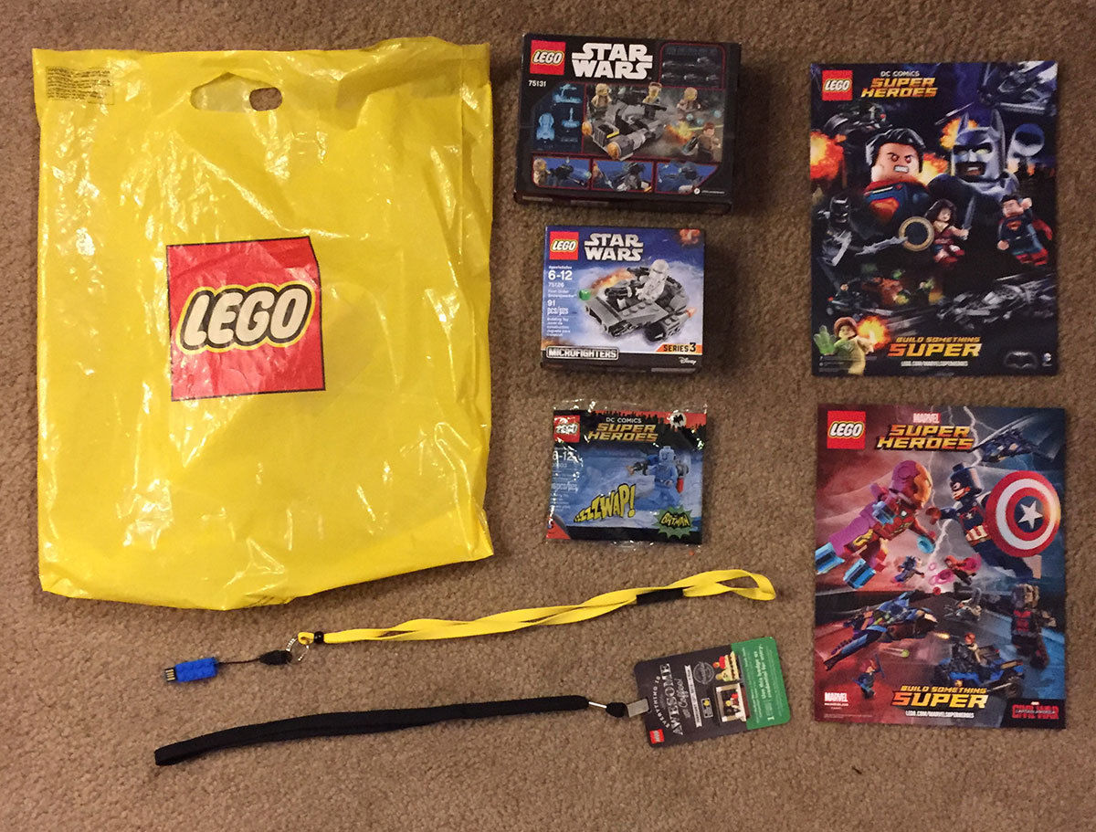 lego-prize & NJCC Door Prize Announcement LEGO Toy Fair 2016 Gift Bag | New ...